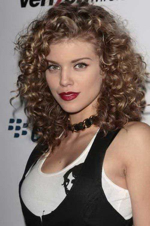 Curly Layered Hairstyles-23