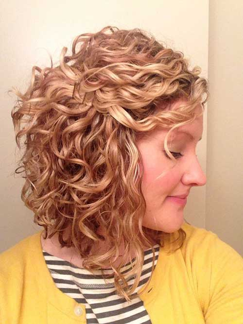 Curly Layered Hairstyles-33