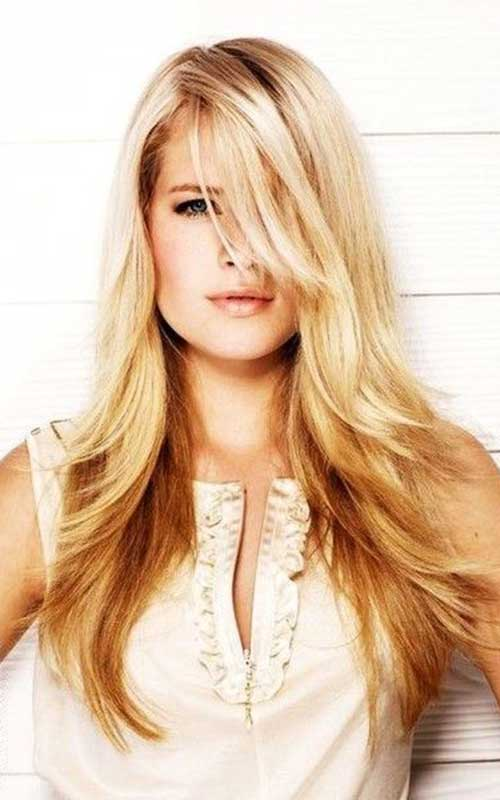 20 Best Long Hairstyles For Round Faces Hairstyles And