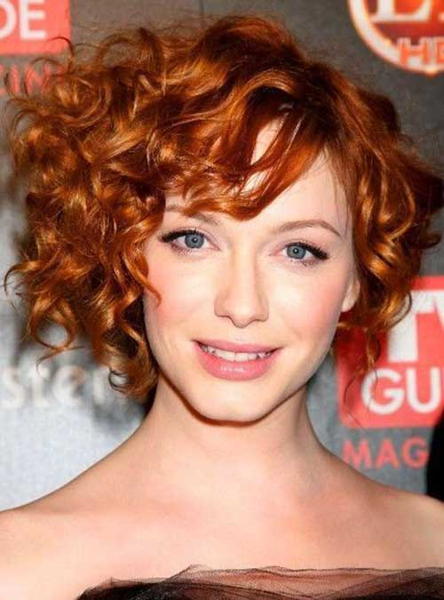 Curly Layered Hairstyles-7