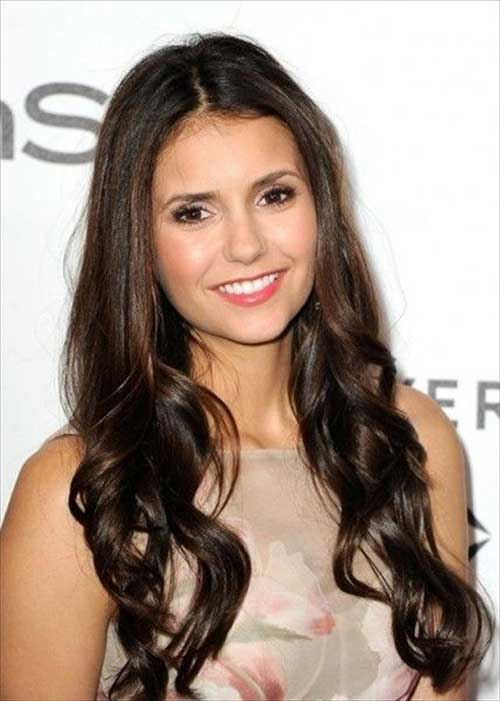 Long Hairstyles for Round Faces-7