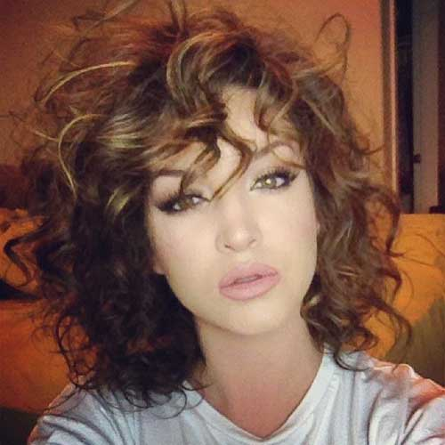 Curly Layered Hairstyles-9