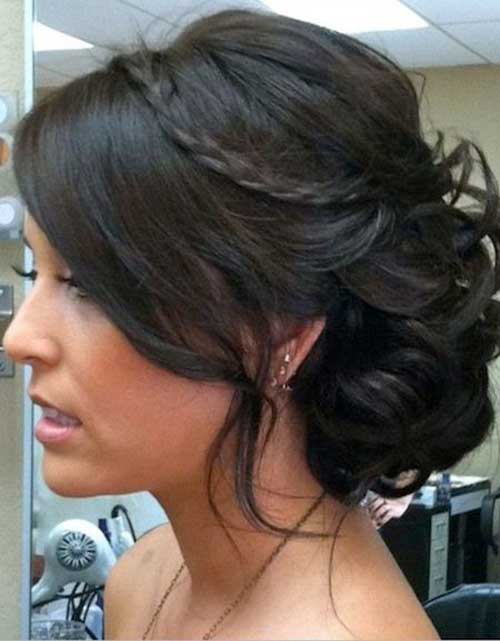 Bun Hairstyles with Bangs-14