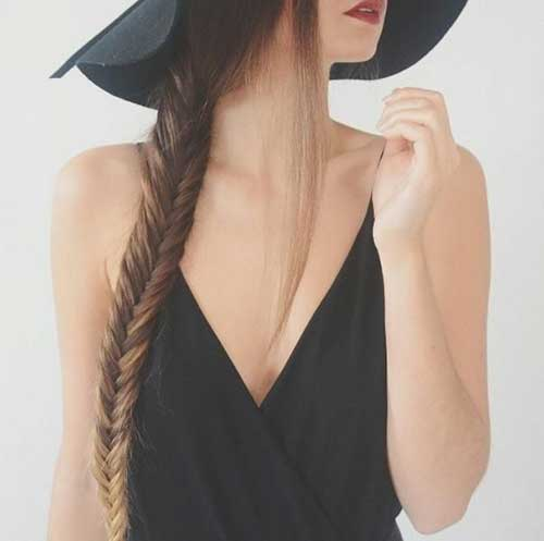 Fishtail Braids Hairstyles-10