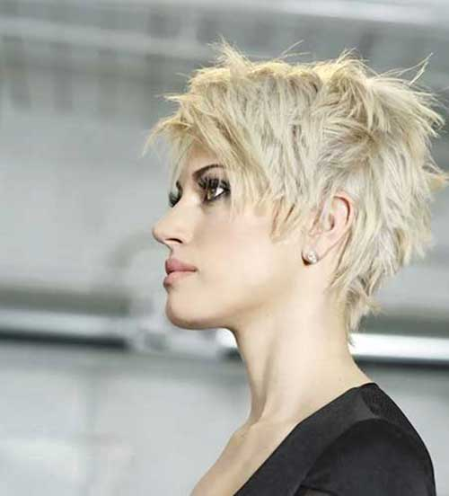 Long Pixie Haircut for Thick Hair-13