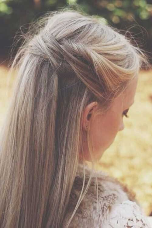 Party Hairstyles for Straight Hair-14