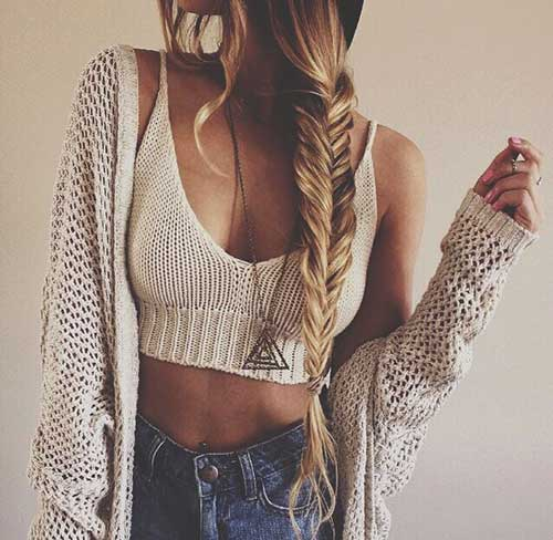 Fishtail Braids Hairstyles-15