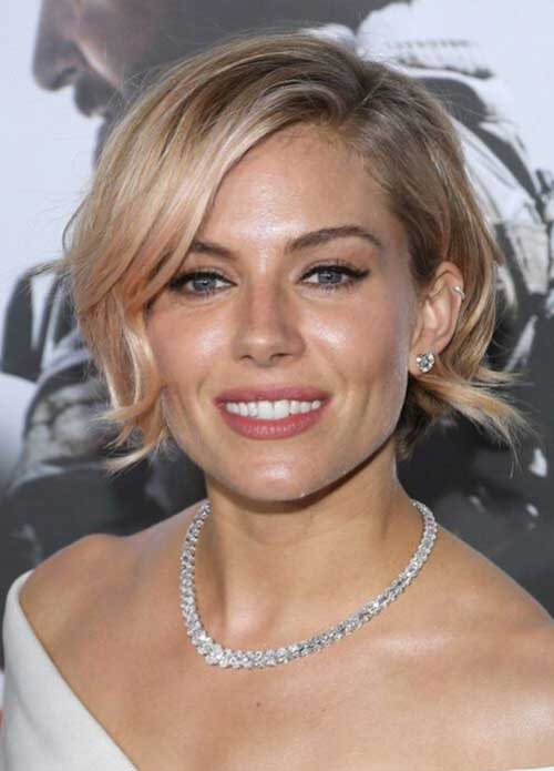 Hairstyles with Side Swept Bangs-15