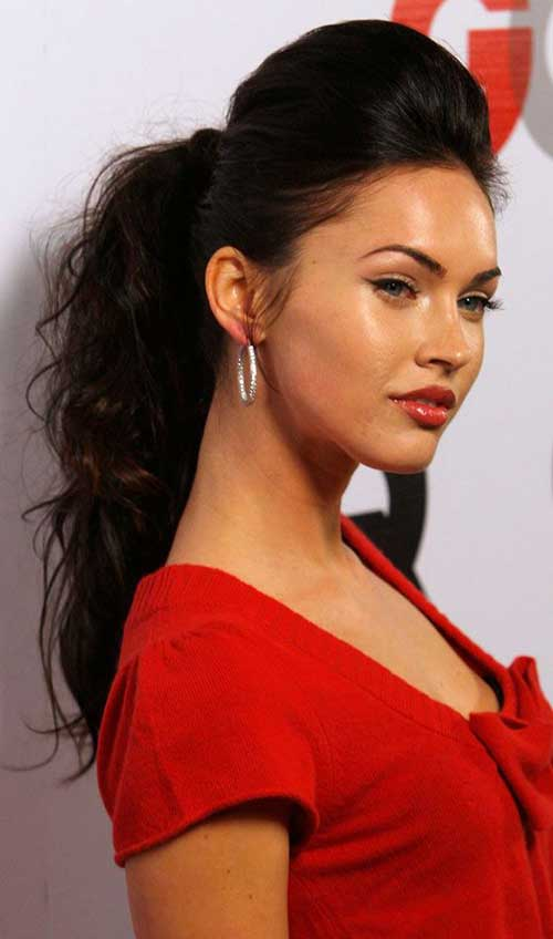 15 Long High Ponytail Hairstyles And Haircuts Lovely