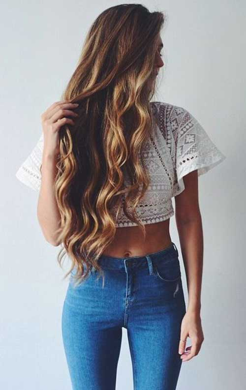 Best Hairstyle for Wavy Hair-18