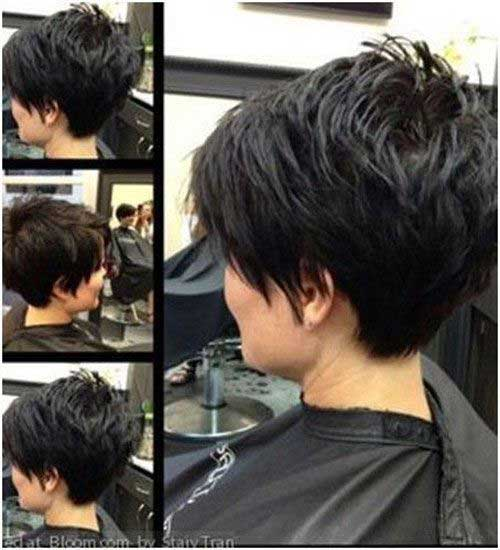 Long Pixie Haircut for Thick Hair-19
