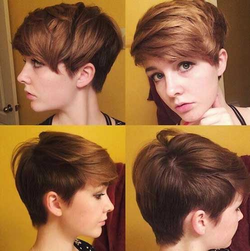 Hairstyles with Side Swept Bangs-6