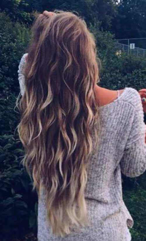 Best Hairstyle for Wavy Hair-7