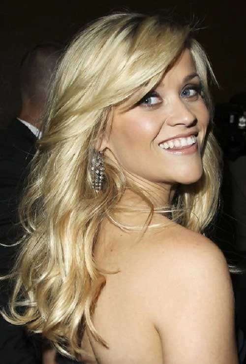 Hairstyles with Side Swept Bangs-9