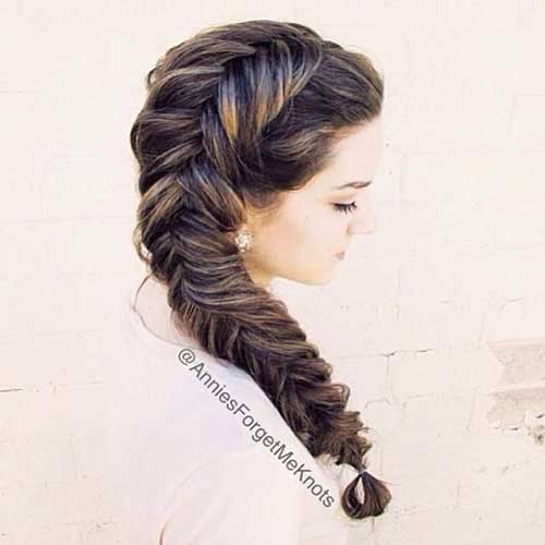 Fishtail Braided Hairstyles