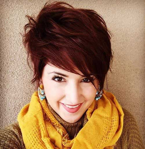 Long Pixie Haircuts for Thick Hair