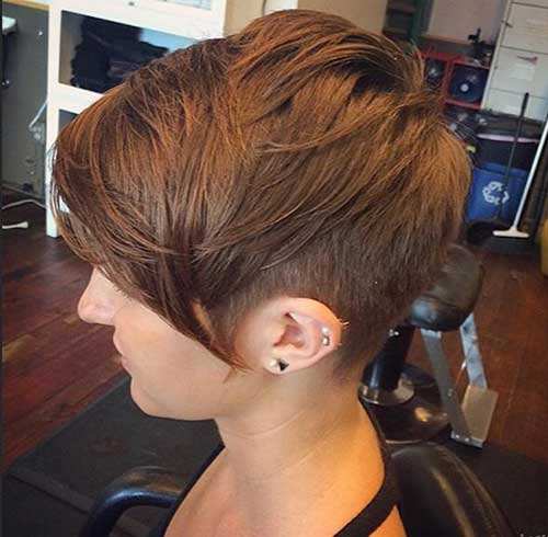 20 Long Pixie Haircut for Thick Hair