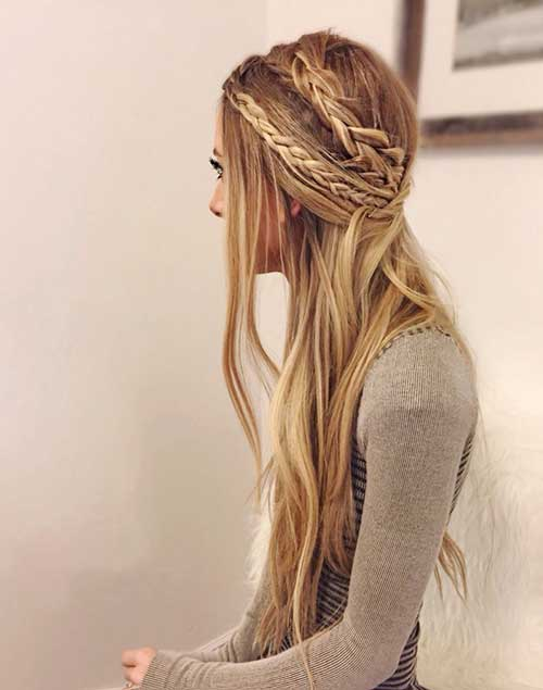 Straight Party Hairstyles