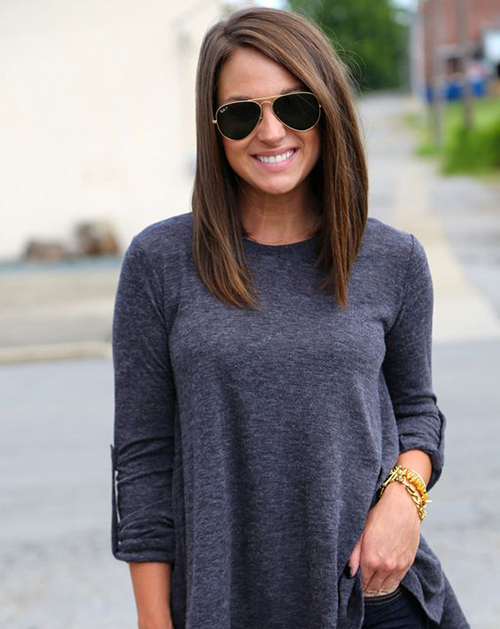Mid Length Hairstyles-18