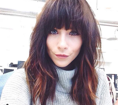 Long Bangs Hairstyles-13