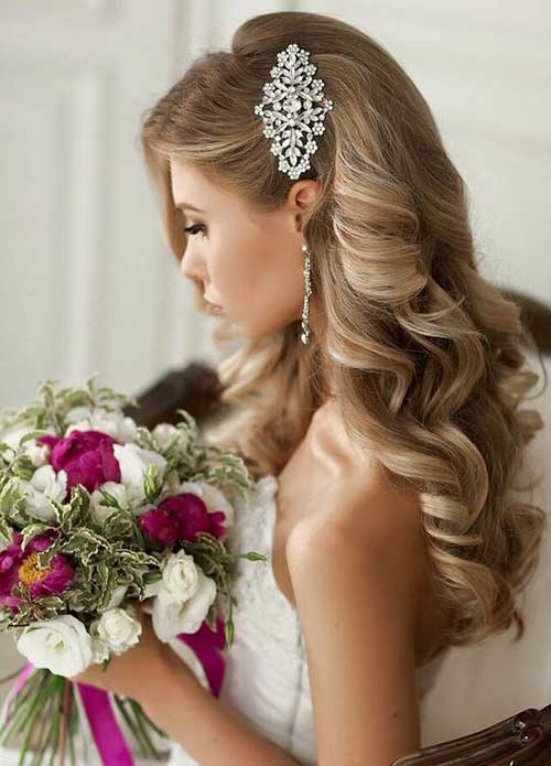 Hairstyles for Weddings Long Hair-19
