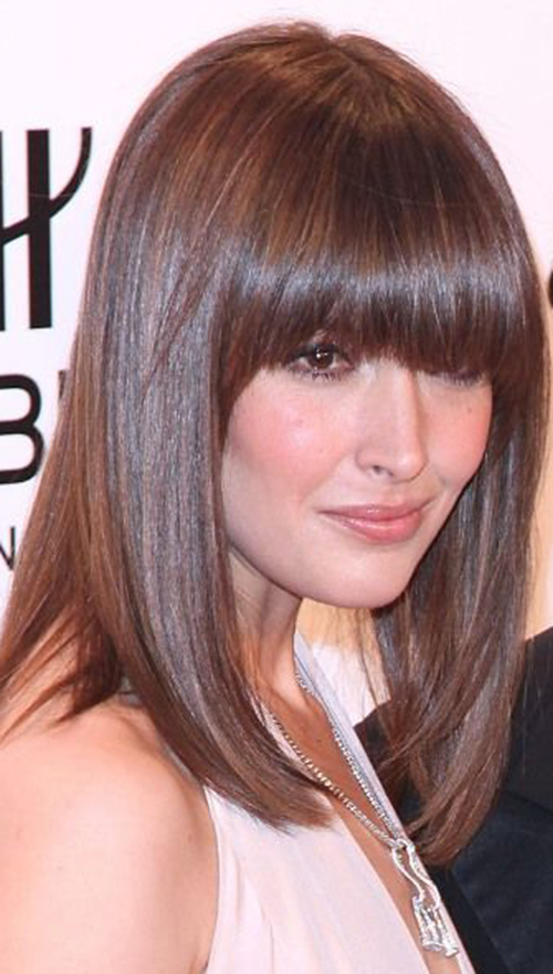 Long Bangs Hairstyles