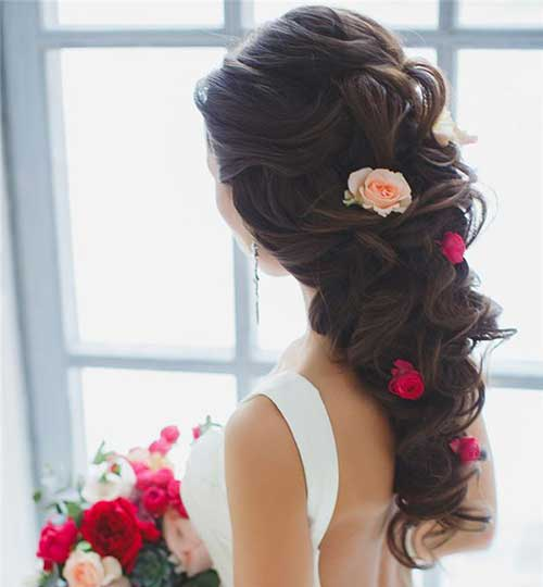 20 Hairstyles for Weddings : Long Hair
