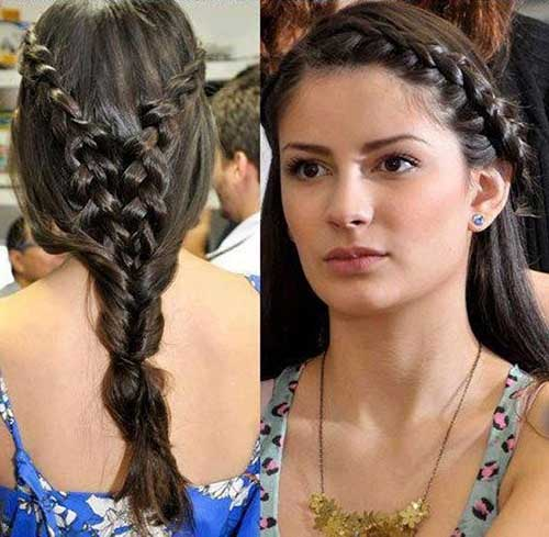 Hairstyles for Evening Party-10