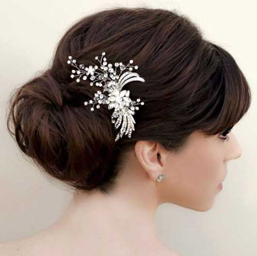 Bridal Updos for Long Hair-12