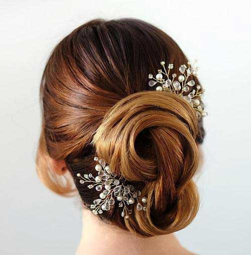 Bridal Updos for Long Hair-15