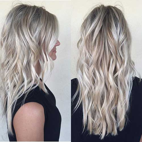 Long Blonde Hair Color Ideas
