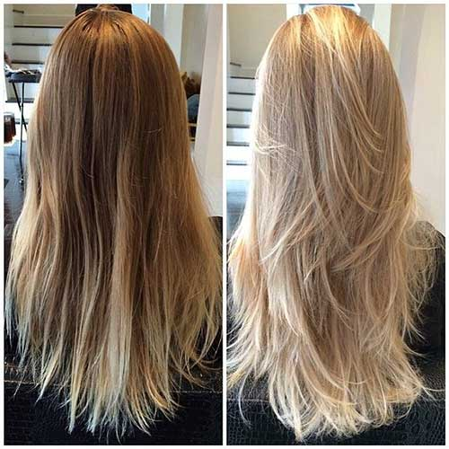 28 Lovely Ery Blonde Layered Hair