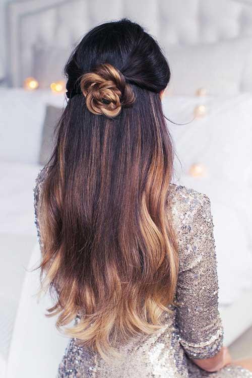 Half Down Half Up Hairstyles-10