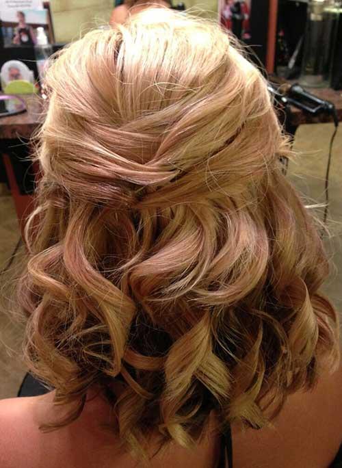 Half Down Half Up Hairstyles-13