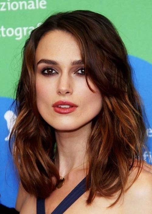 Mid Length Layered Hair-13
