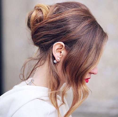 French Hair Bun-14