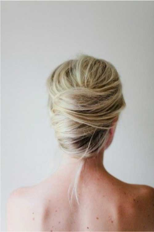 French Hair Bun-15