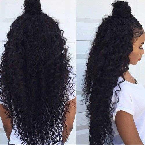 Half Down Half Up Hairstyles-15