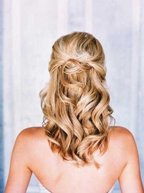 Half Down Half Up Hairstyles-17