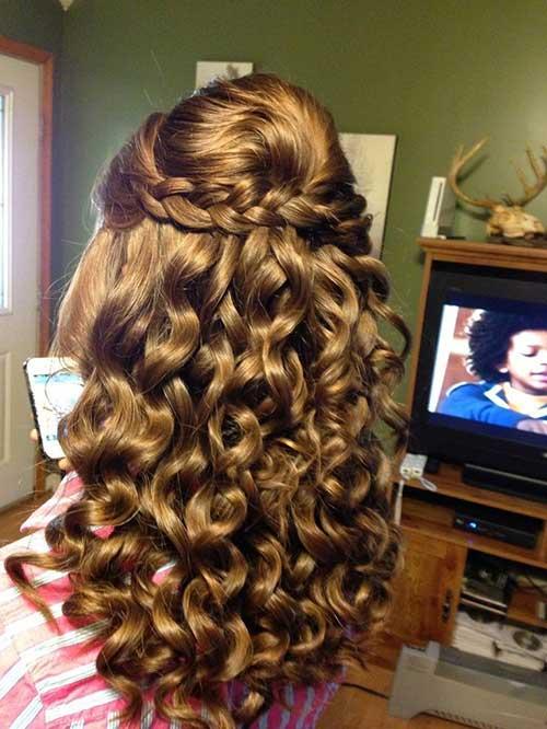 Half Down Half Up Hairstyles-6