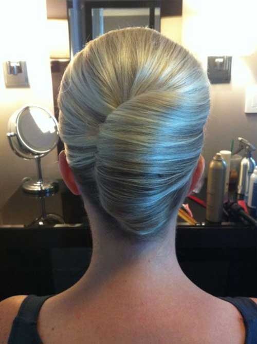 French Hair Bun-7