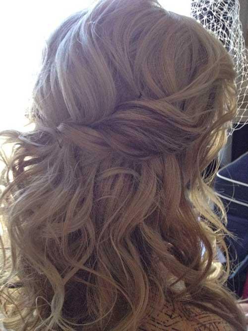 Half Down Half Up Hairstyles-8