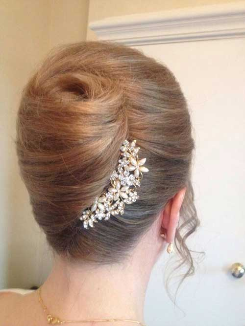 French Hair Bun-9