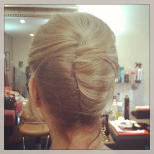 French Bun for Long Hair