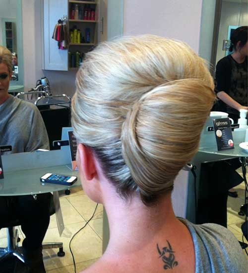 French Hair Bun