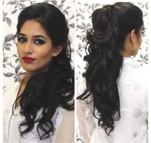Hairstyle for Night Party