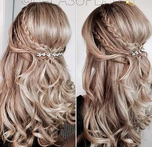Beautiful Half Up-Half Down Hairstyles