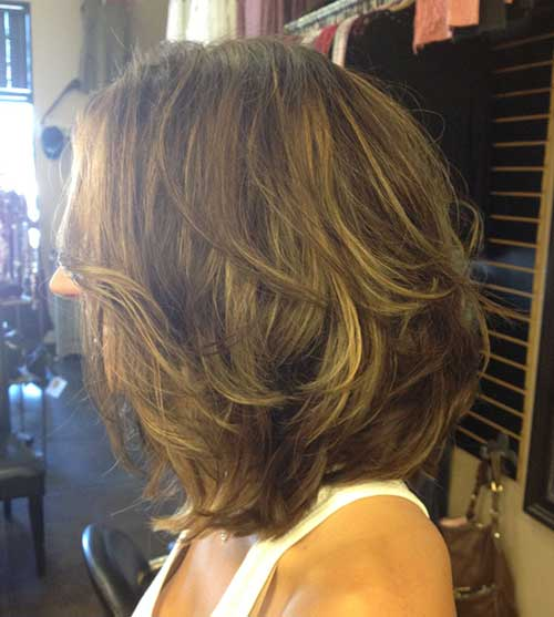 Must-See Mid Length Layered Hair Ideas