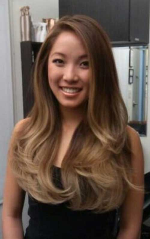 Best Brown Hairstyle for Asian