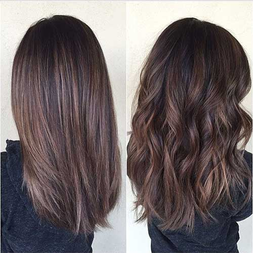 Pretty and Stylish Brunette Haircuts